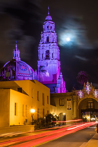 Full Moon At Balboa Park