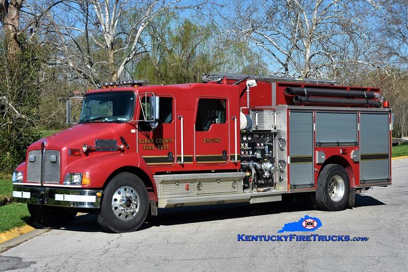 RETIRED <br /> Clark County Reserve Engine 4 <br /> x-Engine 1<br /> 2006 Kenworth T-300/Pierce 1250/1000<br /> Greg Stapleton photo