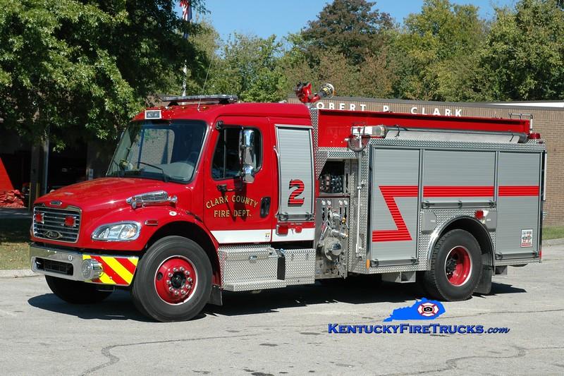 <center> Clark County  Engine 2  <br> 2012 Freightliner M2-106/Pierce 1250/1000 <br> Greg Stapleton photo </center>