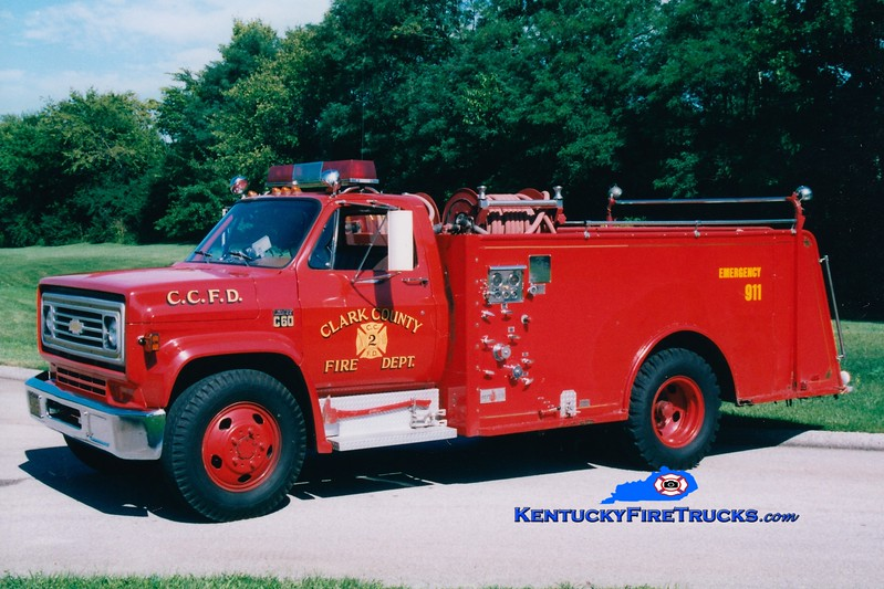 <center> RETIRED <br> Clark County  Engine 2  <br> 1973 Chevy C60/Sutphen 500/1000<br> Greg Stapleton photo </center>