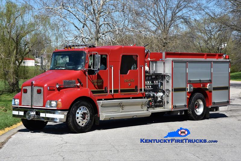 Clark County Reserve Engine 4<br /> x-Engine 3<br /> 2006 Kenworth T-300/Pierce 1250/1000<br /> Greg Stapleton photo
