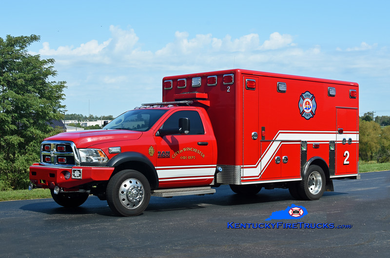 Winchester Emergency Care 2<br /> 2017 Dodge Ram 4500 4x4/First Priority (2006 Horton)<br /> Kent Parrish photo
