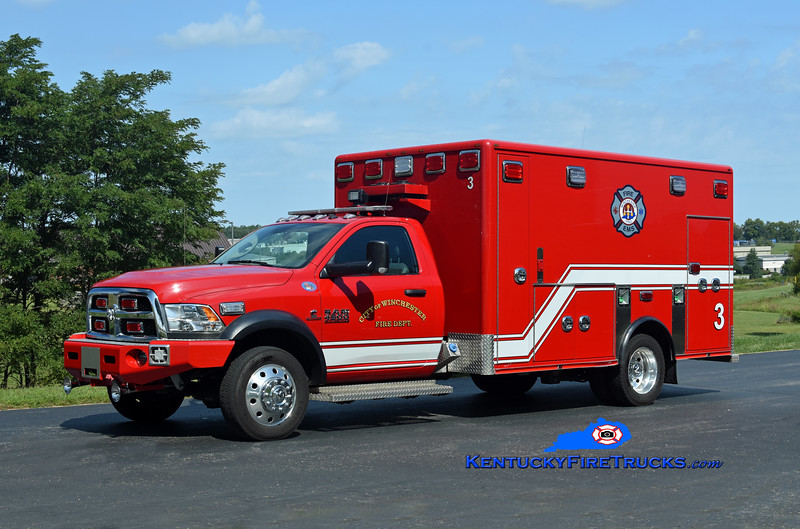 Winchester Emergency Care 3<br /> 2018 Dodge Ram 4500 4x4/First Priority (2007 Horton)<br /> Kent Parrish photo