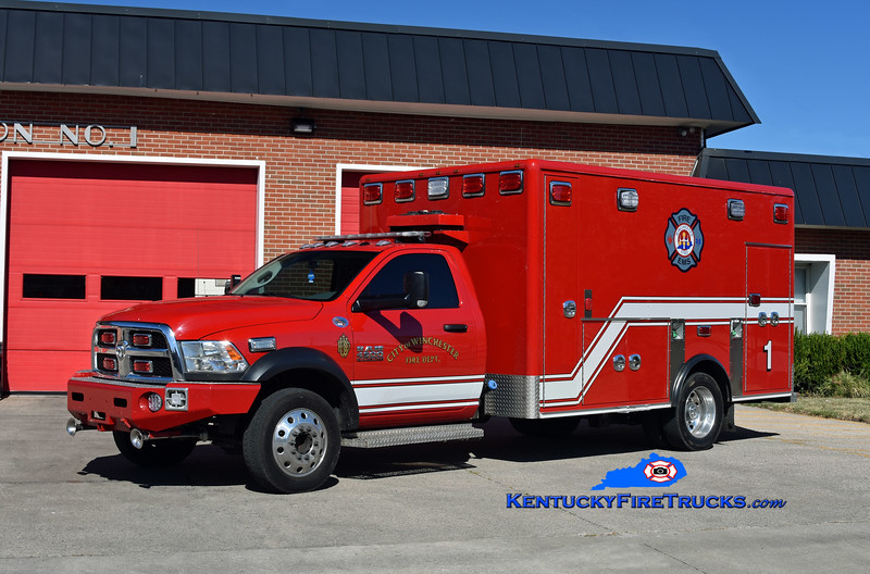 Winchester Emergency Care 1<br /> 2017 Dodge Ram 4500 4x4/First Priority (2006 Horton)<br /> Kent Parrish photo