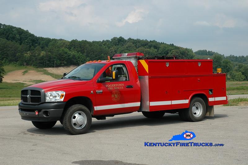 <center> Fogertown  Rescue 1 <br> 2007 Dodge Ram/Knapheide  50/300 <br> Greg Stapleton photo </center>