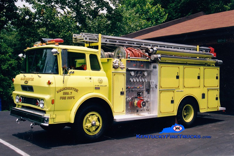 <center> RETIRED <br> Manchester  Engine 7 <br> 1979 Chevy/Jaco 1000/750 <br> Greg Stapleton photo </center>