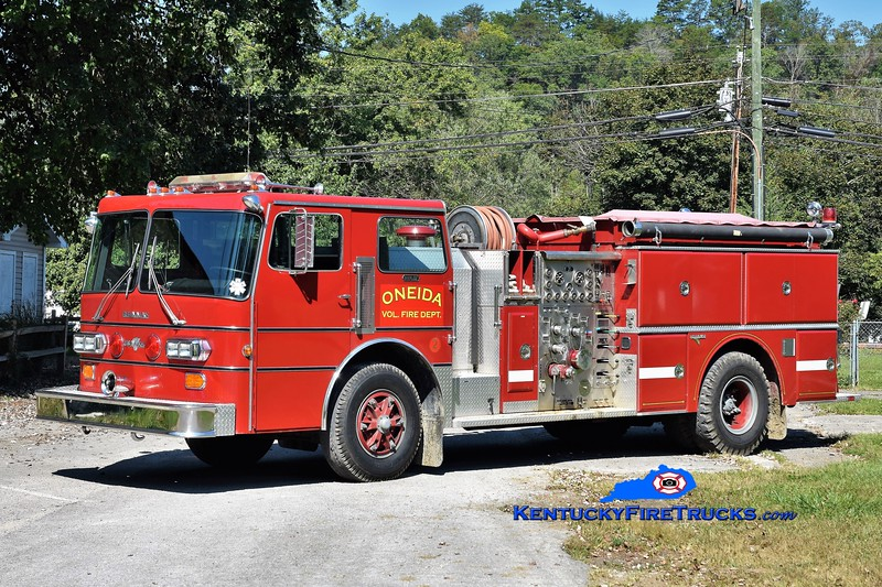 Oneida  Engine 2<br /> x-Tipp City, OH<br /> 1983 Duplex/Grumman 1250/750<br /> Greg Stapleton photo