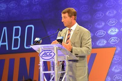 Clemson Interviews at ACC Kick-Off