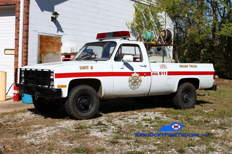 <center> Albany  Brush 1 <br> 1984 Chevy 1500 4x4/Forestry 50/200 <br> Kent Parrish photo </center>