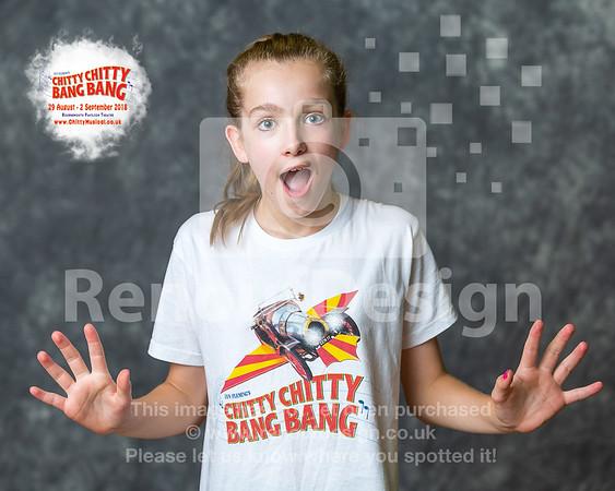 011 - Chitty Chitty Bang Bang Stars with logo