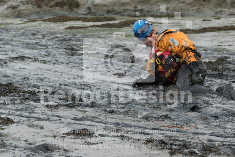 12 - HM Coastguard Lymington - Mud Training