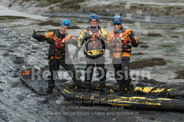 02 - HM Coastguard Lymington - Mud Training