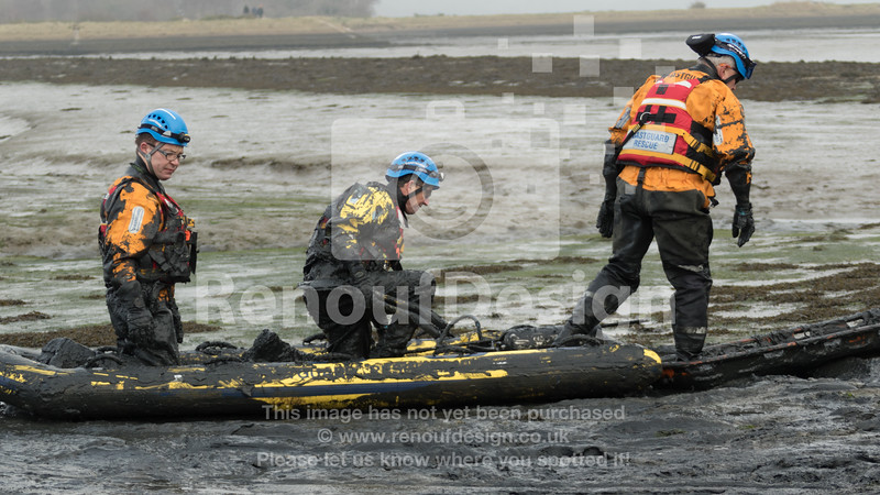 04 - HM Coastguard Lymington - Mud Training