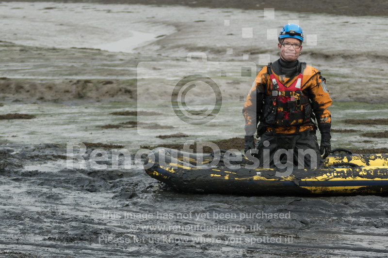 06 - HM Coastguard Lymington - Mud Training