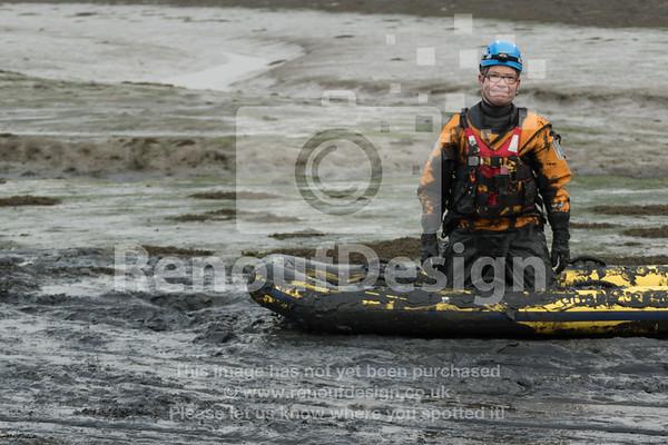 06 - HM Coastguard Lymington - Mud Training