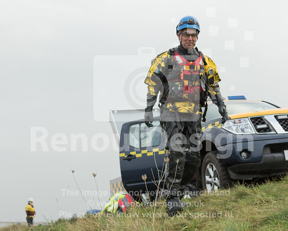 10 - HM Coastguard Lymington - Mud Training
