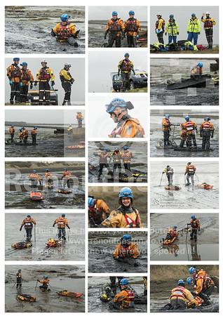 44 -  HM Coastguard Lymington Team Poster