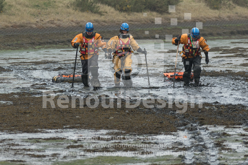 14 - HM Coastguard Lymington - Mud Training