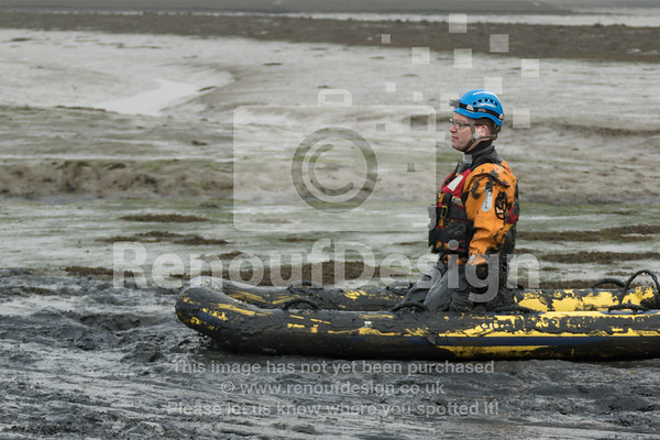 05 - HM Coastguard Lymington - Mud Training