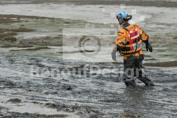 11 - HM Coastguard Lymington - Mud Training