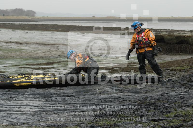 07 - HM Coastguard Lymington - Mud Training