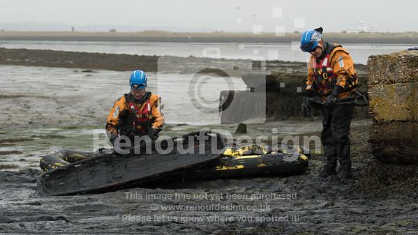 09 - HM Coastguard Lymington - Mud Training