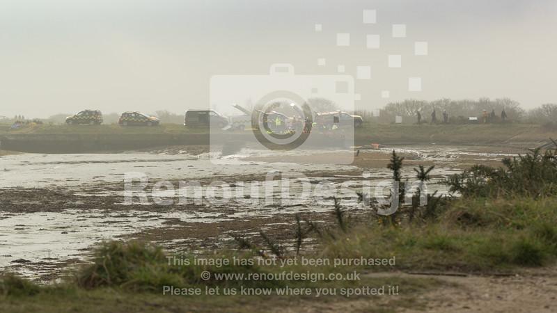 01 - HM Coastguard Lymington - Mud Training