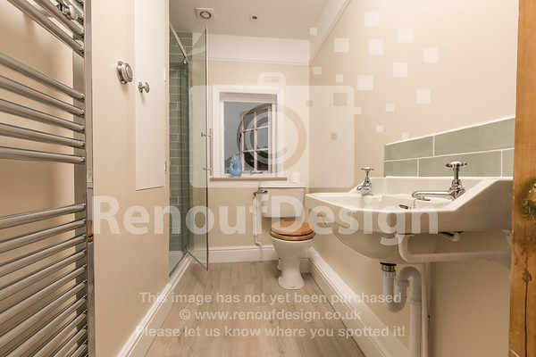 Shower room redesign with wireless luxury shower, tiling and plumbing by Matt Renouf