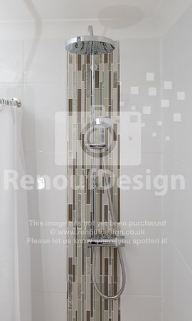 Accessible shower room / bathroom refurbishment in Lymington
