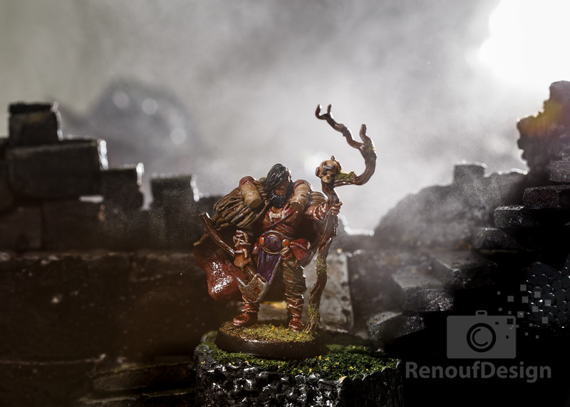 11 - 3D printed and hand painted fantasy 28mm scale minature