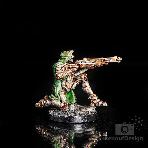 07 - 3D printed and hand painted fantasy 28mm scale minature