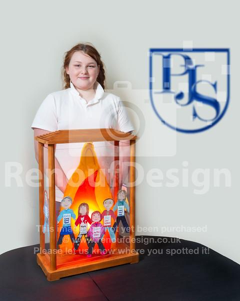14 -  Pennington's Holocaust Memorial Day Flame