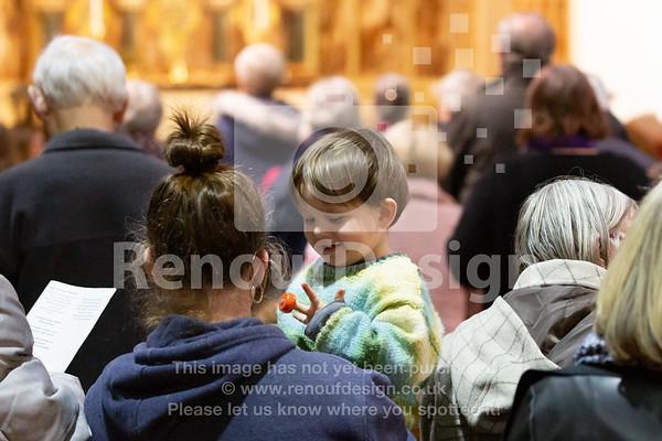 18 - Holocaust Memorial Service at St Marks, Pennington