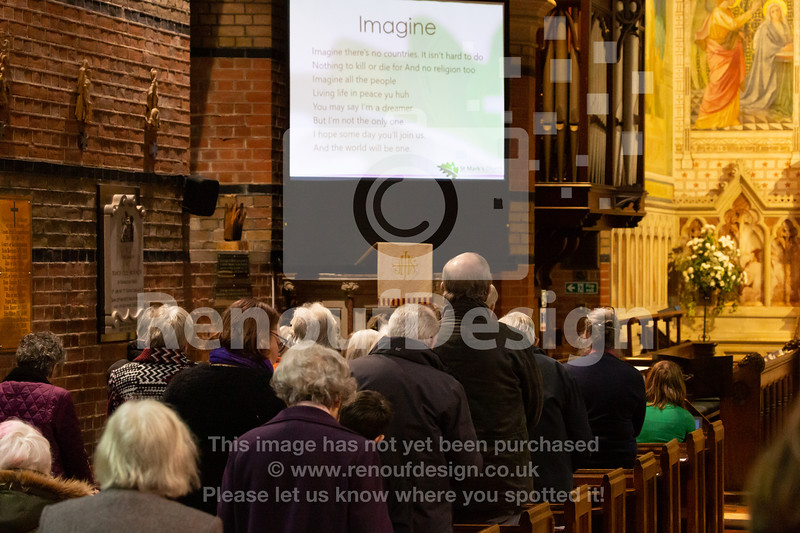04 - Holocaust Memorial Service at St Marks, Pennington