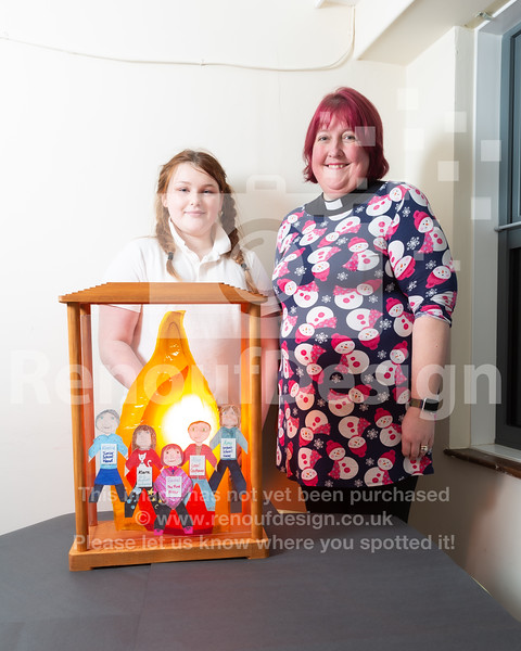 11 -  Pennington's Holocaust Memorial Day Flame