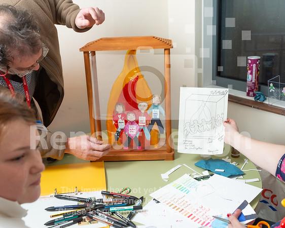 10 -  Pennington's Holocaust Memorial Day Flame