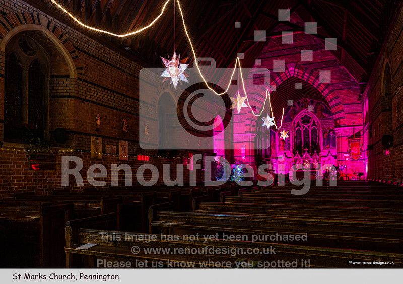 03 - St Marks, Pennington at Christmas