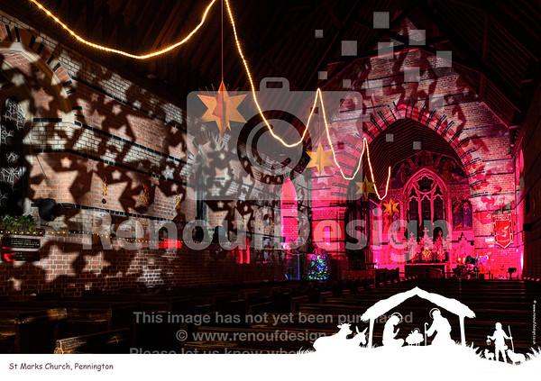 05 - St Marks, Pennington at Christmas