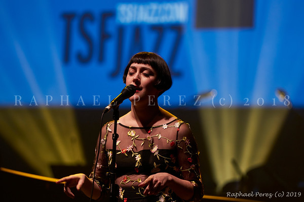 2019 TSF Jazz show in Salle Pleyel, Paris Hailey Tuck