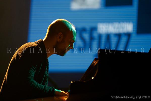 2019 TSF Jazz show in Salle Pleyel, Paris Pianist Shai Maestro