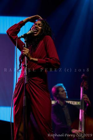 2019 TSF Jazz show in Salle Pleyel, Paris Judi Jackson