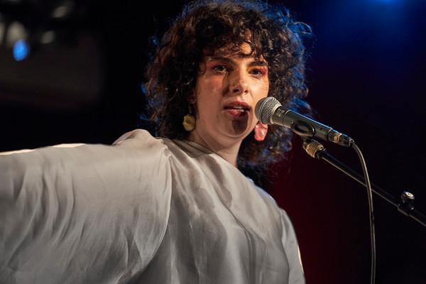 Ceu, great brasilian singer in concert at New Morning, Paris on July 2019