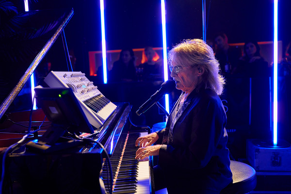 Christophe private concert at Les Bains hotel, Paris. Feb 2019