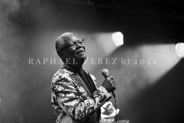 Don Bryant on his opening show before Gregory Porter concert. Jazz à la Villette Festival, Paris, September 2017.