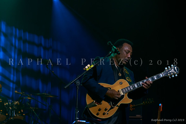 George Benson at Enghien Jazz Festival. 2018