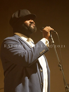 Gregory Porter concert during Jazz à la Villette in Paris. September 2017