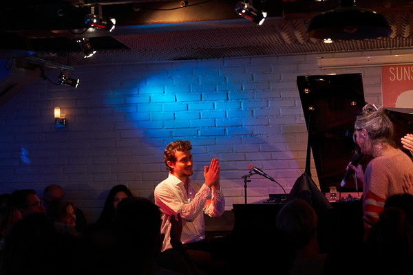 Pianist Guy Mintus show in Paris, Nov 2019, during Jazz and Klezmer Festival. At Sunset Sunside