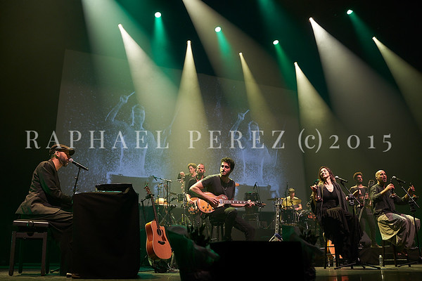 Idan Raichel Project show in Paris Salle Pleyel. February 2020