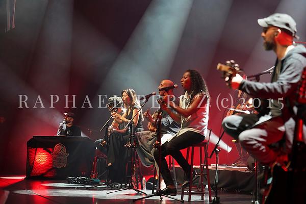 Idan Raichel Project show in Paris Salle Pleyel. February 2020.
