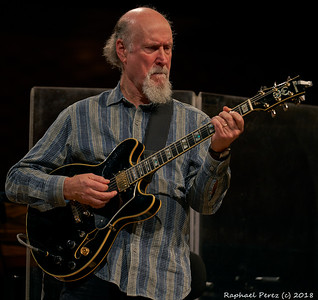 John Scoffield show in Paris. November 2018
